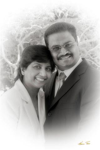 Pastor Rajen and Rachael