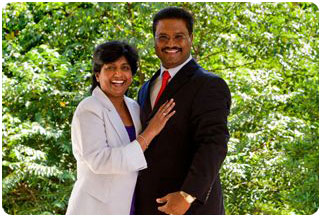 Senior Pastors - Pastor Rajen and Rachael